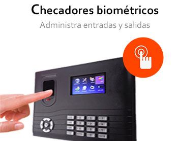 Checadores biométricos