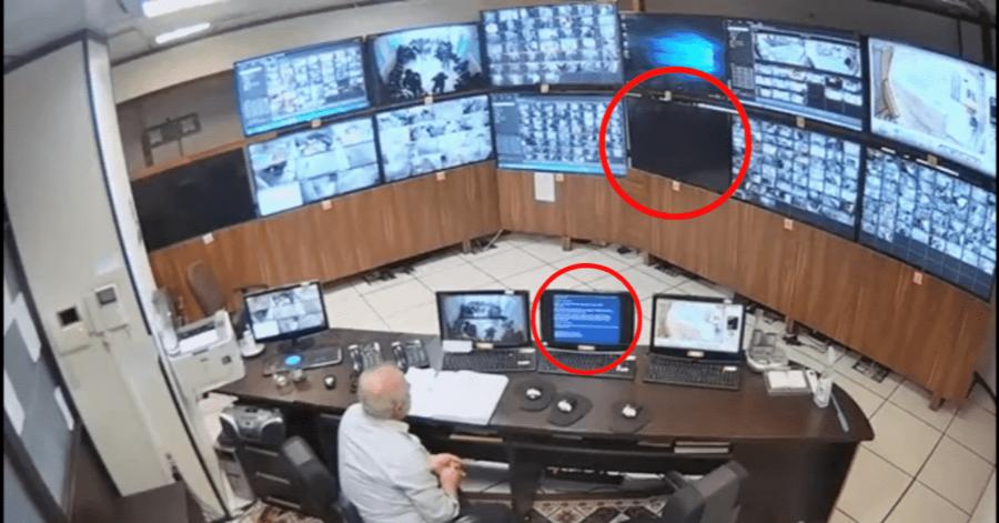 VIDEO: El momento exacto en el que hackers vulneran la seguridad de una prisión de Irán