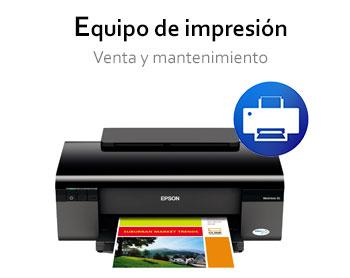 Equipo de impresión